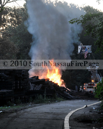 July 5th, 2010 LIRR Storage Yard Fire