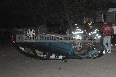 MVA with Overturned Auto April 17th, 2010