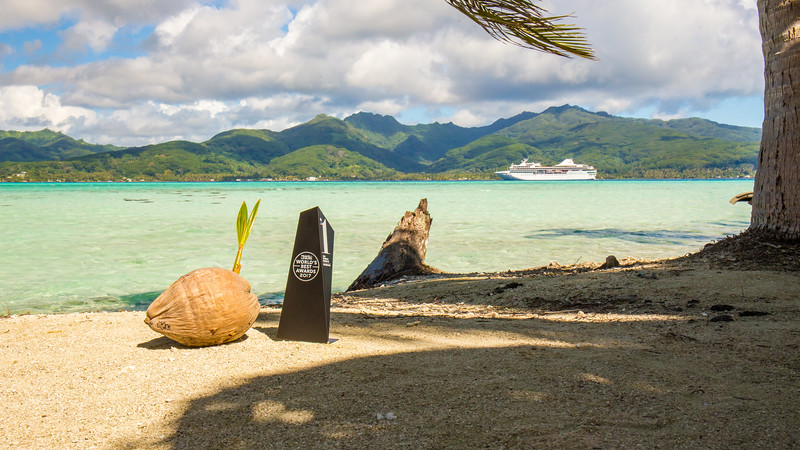 #1 mid size cruise ship in the world ... the Paul Gauguin