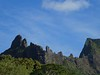 Moorea, the tour - The skyline from the Belvedere - 2