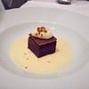 Chocolate Terrine with Mascarpone and Cognac Anglaise