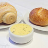 Italian and Sourdough Rolls with Black Truffle and Reggiano Butter