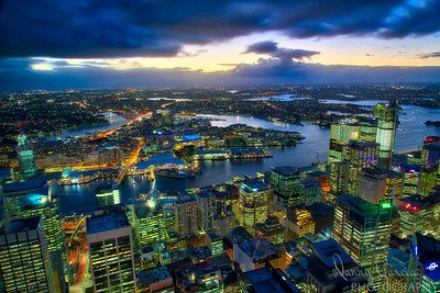 Downtown Sydney - Looking West