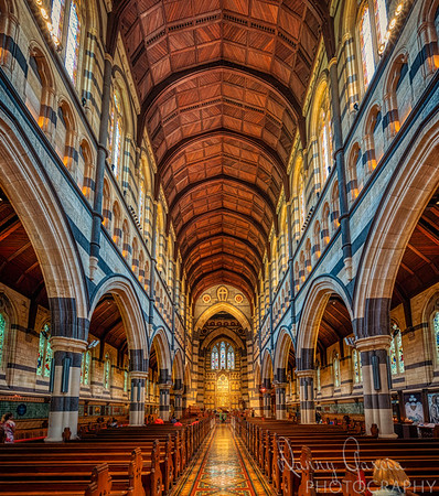 Saint Pauls Cathedral in Melbourne - interior photograph.