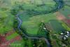 Aerial shot of Fiji's main island, Viti Levu