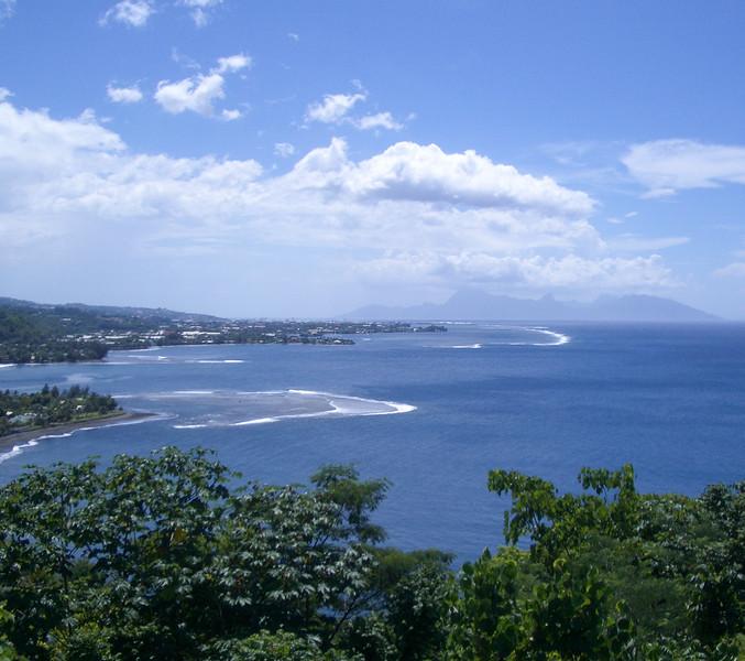 Papeete view