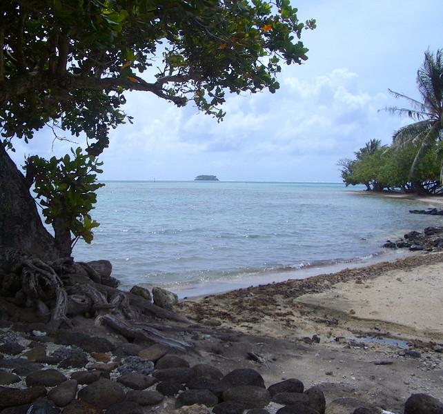 Raiatea beach