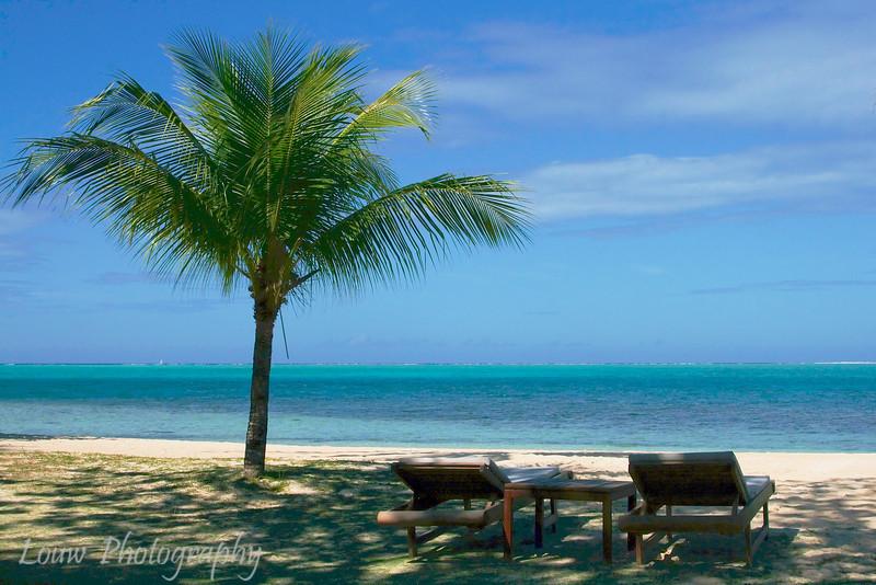 Beach at Hotel Bora Bora, French Polynesia