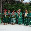 "The ""Mamas"" of Bora Bora performing at Hotel Bora Bora, French Polynesia"