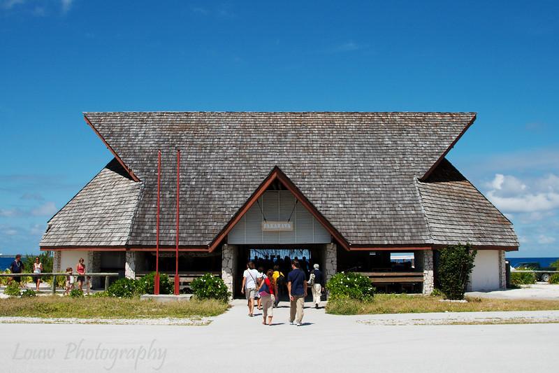 Fakarava airport, French Polynesia