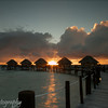 Sunrise at Manihi Pearl Beach Resort, French Polynesia