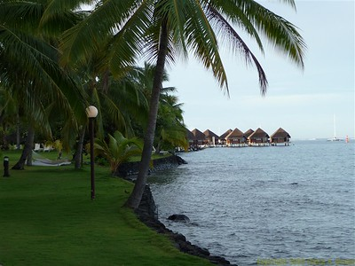Intercontinental Hotel , Papeete