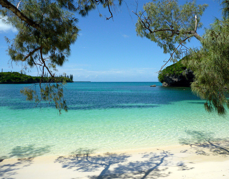 Lagoon at Iles de Pins, New Caledonia