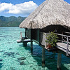 My bungalow at the Hilton Moorea
