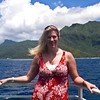On the ferry between islands
