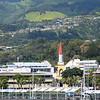 Views of Papeete as we leave port