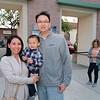 Christine Shin with Caleb and Yom Fong