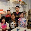 Courtney Lin, Ethan Wu, Emma Wu, Aiden Wu and Ashley Lin