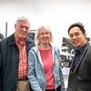 William and Dr. Diane Cullinane with David Kim