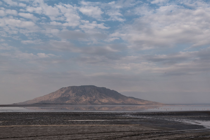 Lake Natron and Mount Shompole