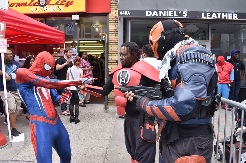 As it was National Comic Book Day there was a free comic giveaway at Comic City Comics