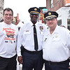 Michael Harris - Executive Director - South Street Headhouse District, Lieutenant Mike Goodson and Capt. Frank Milillo