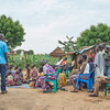 Kadoro village - internally displaced people.