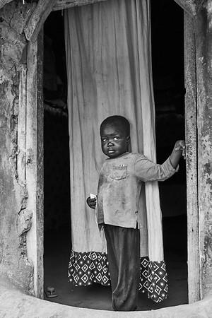 South Sudan (black & white)