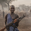 The girl with the gun, South Sudan