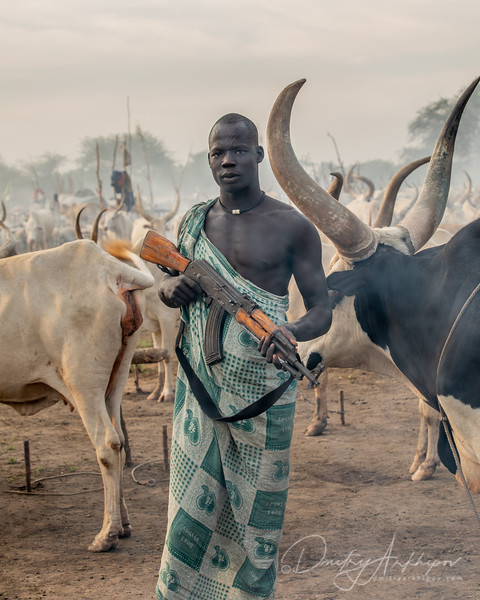 The warrior of South Sudan