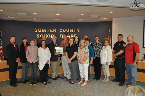2018 - Recognition of South Sumter Middle School for AVID Demonstration School Validation