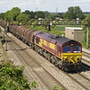 66250 passes St. Brides, Wentloog with 6H35 Margam - Birdport on 1/6/13