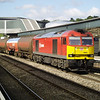 60063 passes Newport with 6B13 Robeston - Westerleigh on 1/6/13