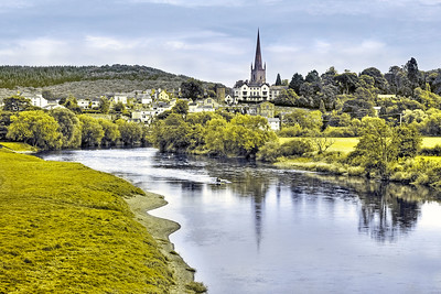 Ross-on-Wye across The River Wye