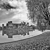 Caerphilly Castle in South Wales 20