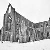 Tintern Abbey in Snow 4