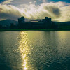 Caerphilly Castle in South Wales 26