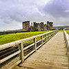 Caerphilly Castle in South Wales 24