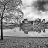 Caerphilly Castle in South Wales 21