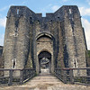 Caerphilly Castle in South Wales 04