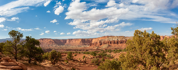 Capitol Reef Panorama Point