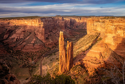 Spider Rock, Canyon de Chelly Arizona