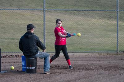 Softball Practice 2.23.17