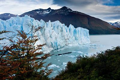 Perito Moreno glacier toward the North face