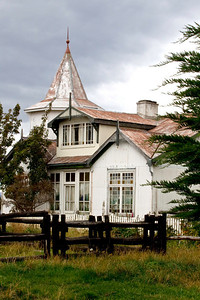 An old estancia by the roadside traveling North to Puerto Natales