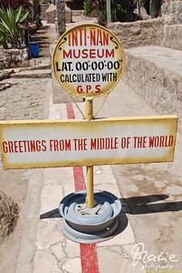 am äquator quito ecuador