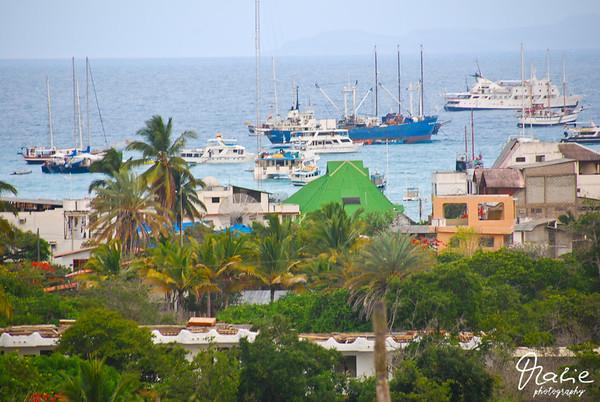 puerto baquerizo santa cruz galapagos