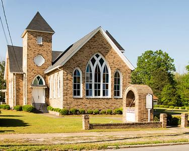 Ebenezer Baptist Church, Manning