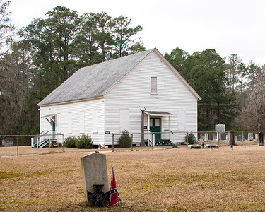 Cross Swamp Methodist Church, Islandton
