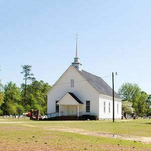 Newman Swamp Methodist Church, Lamar